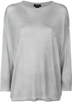 Avant Toi flared knitted top - women - Silk/Cashmere - M