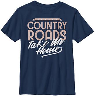Fifth Sun Boys' Tee Shirts NAVY - Navy 'Country Roads' Tee - Boys