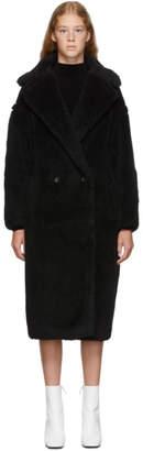 Max Mara Black Teddy Bear Coat