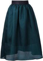 Le Ciel Bleu midi full skirt