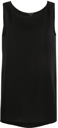 Eileen Fisher Sleeveless Silk Top