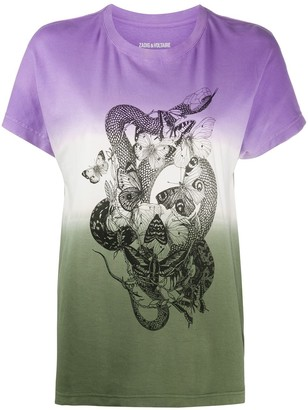 Zadig & Voltaire Tom DD graphic-print T-shirt