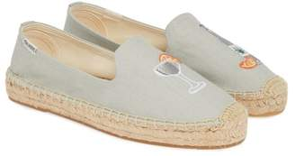 Soludos Agave Embroidered Espadrille