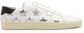 Saint Laurent Court Classic star-applique leather trainers