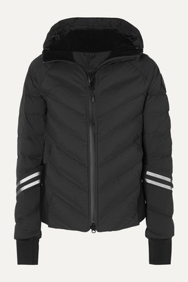 Canada Goose Hybridge Hooded Quilted Shell Down Jacket - Black