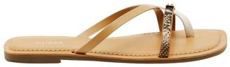 GUESS Caleah3 Taupe/Natural Sandal
