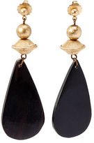 Ralph Lauren Teardrop Horn Earrings