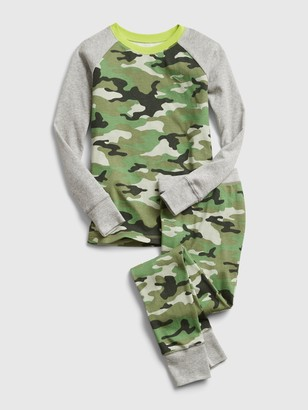 Gap Kids Camo PJ Set