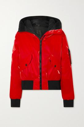 Goldbergh Bomba Hooded Down Ski Jacket - Red
