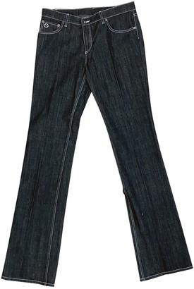 Louis Vuitton Black Cotton Jeans