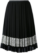 RED Valentino embellished crepe skirt - women - Polyester - 42