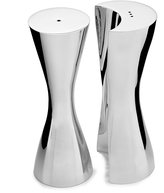Nambe Hug Salt & Pepper Shaker Set