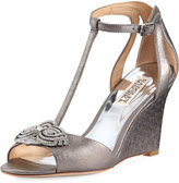Badgley Mischka Nedra II Dressy Wedge Sandal