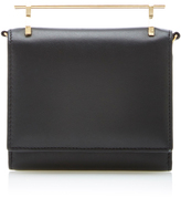 M2Malletier Cabria Leather Wallet in Black