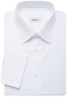 Brioni Herringbone Dress Shirt