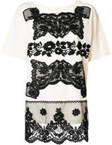 Antonio Marras lace-embroidered T-shirt
