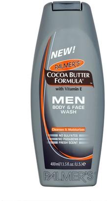 Palmers Cocoa Butter Formula Men Body & Face Wash 400Ml