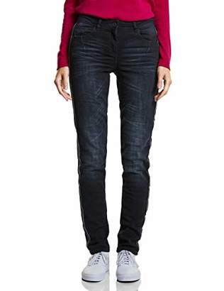 Cecil Women's 371744 Slim Jeans,W31/L32 (Size: 31)