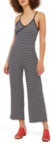 Topshop Women's Stripe Jumpsuit