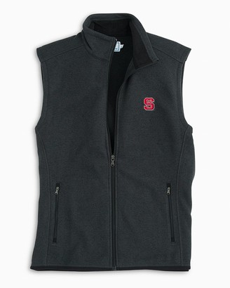 Southern Tide NC State Sweater Fleece Vest