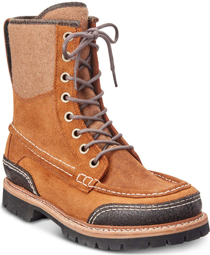 Woolrich Men Squatch Waterproof Leather Boots Men Shoes