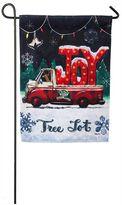 """Evergreen Joy"""" Indoor / Outdoor Christmas Garden Flag"""