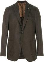 Tombolini classic single-breasted blazer