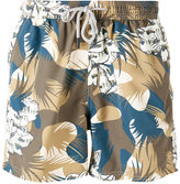 Etro camouflage drawstring swim shorts