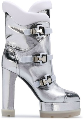 Casadei Side Buckle Boots