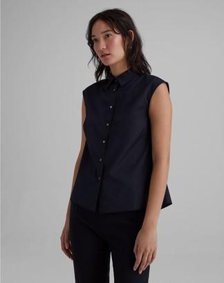 Club Monaco Easy Sleeveless Shirt