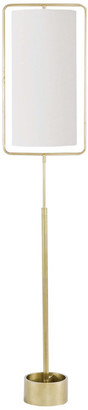 REGINA ANDREW Geo Rectangle Floor Lamp (Natural Brass)