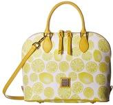 Dooney & Bourke Limone Zip Zip Satchel Satchel Handbags