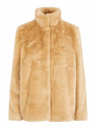 Vero Moda Women's Vmmink Faux Fur Jacket