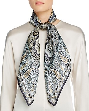 Echo Classic Paisley Square Scarf - 100% Exclusive