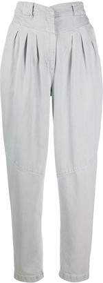 IRO High-Rise Pleated Balloon Trousers