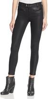 Rag & Bone Ryder Skinny Jeans in Coated Black