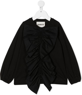 Touriste Ruffle-Embellished Top