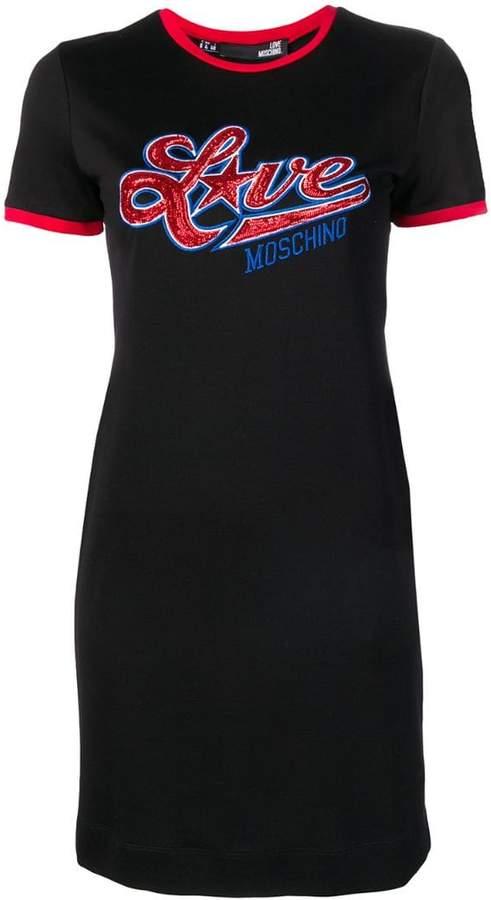87e4f8abf61c3 Sequin T Shirt Dress - ShopStyle