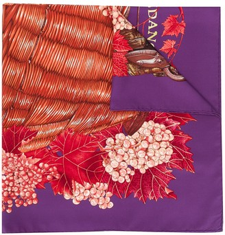 Hermes 1990s pre-owned Vendages scarf
