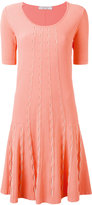 D-Exterior D.Exterior - knitted flared dress - women - Polyester/Viscose - S