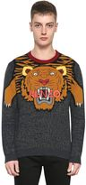 Kenzo Tiger Intarsia Wool Knit Sweater