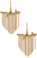 Diane von Furstenberg Twig Tassel Drop Earrings