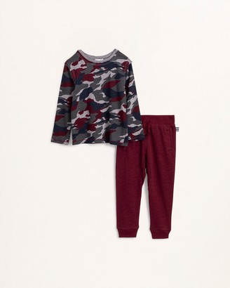 Splendid Toddler Boy Deep Camo Top Set