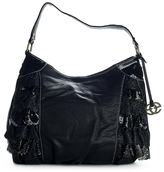 Ecko Unlimited Vintage Ruffle Hobo Bag