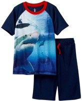 Petit Lem Shark Attack Pajama - 2-Piece Set (Little Boys & Big Boys)