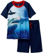Petit Lem Shark Attack Pajama - 2-Piece Set (Little Boys & Big Boys)