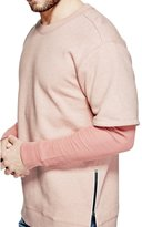 GUESS Men's Roy Two-Fer Pullover