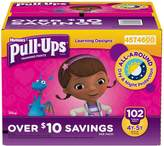 Huggies Pull-ups Traning Pants for Girls (Size XL, 4T - 5T, 102 ct.)