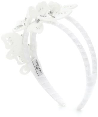 MonnaLisa Embellished butterfly headband