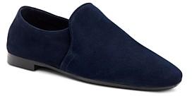 Aquatalia Women's Revy Square-Toe Weatherproof Loafers